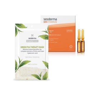 Kit - Sesvitamin C - Green Tea Therapy