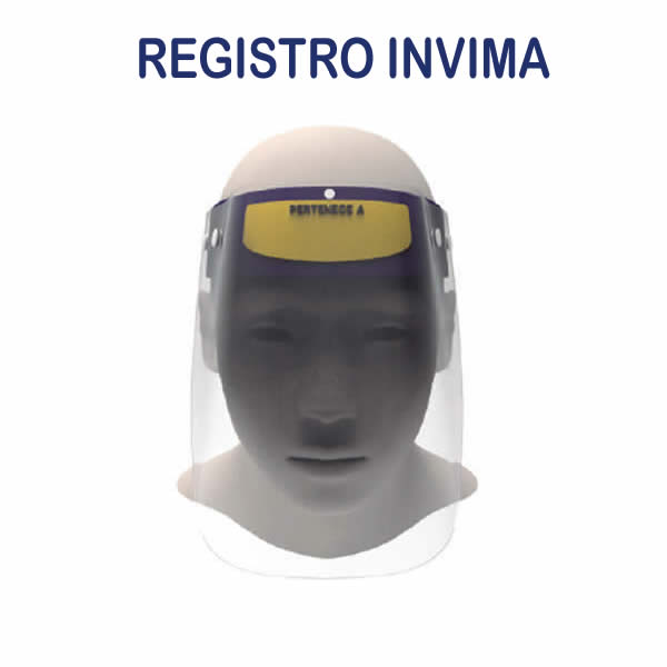 Careta Facial - Registro Invima