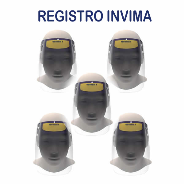 Careta facial x 5 - Registro invima